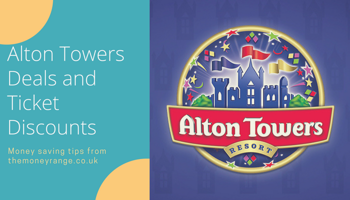 alton towers deals and free tickets