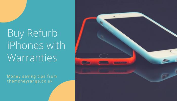 Buy refurbished iPhones with warranties UK