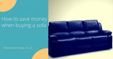 Saving on Sofas: Buying Ex Display Sofas